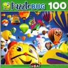 Happy Shaped Balloons - 100 Pieces Jigsaw Puzzle