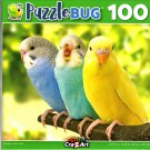 Budgies in The Roost - 100 Pieces Jigsaw Puzzle