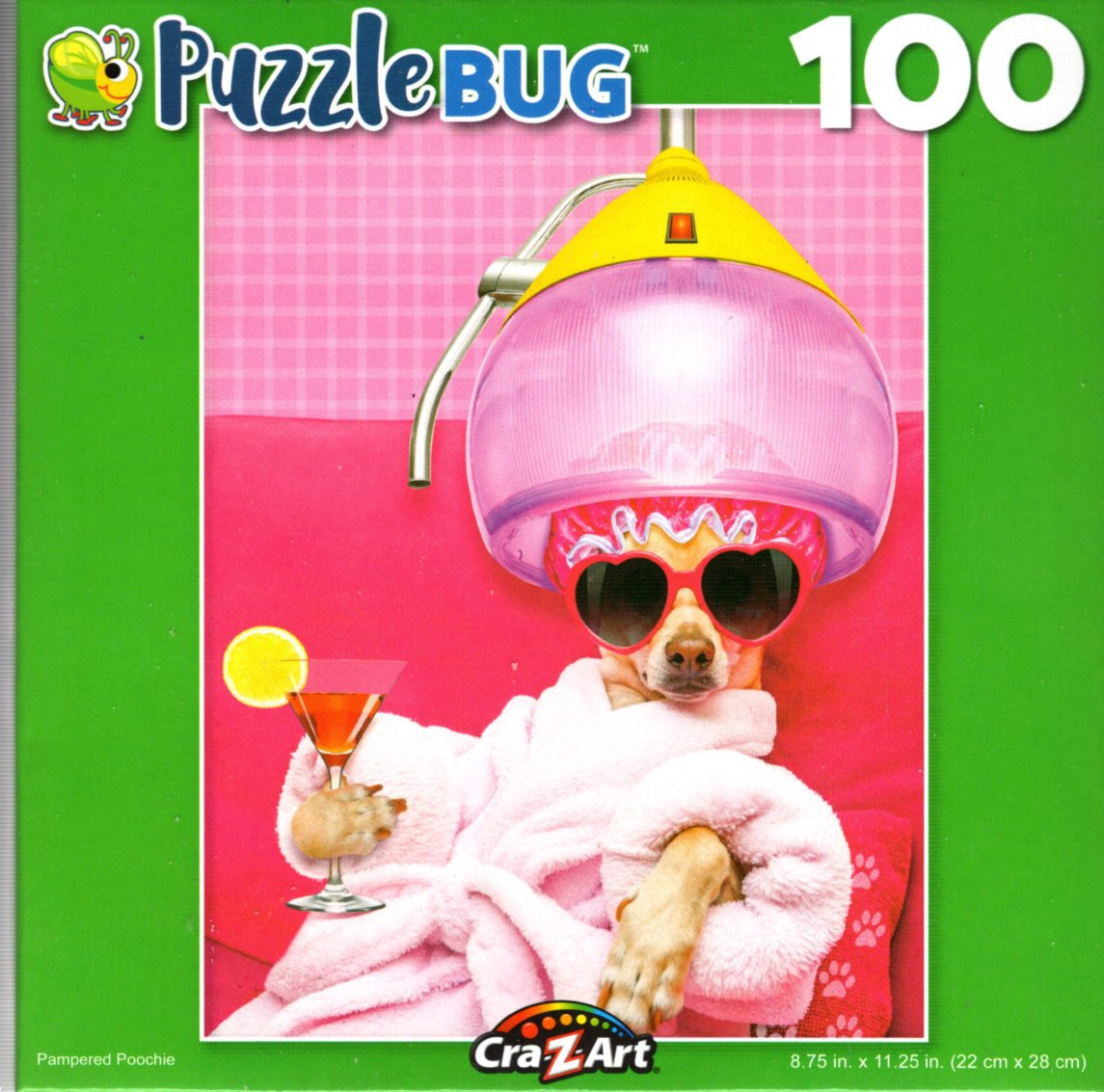 Pampered Poochie - 100 Pieces Jigsaw Puzzle