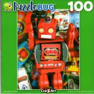 Vintage Big Red Robot - 100 Pieces Jigsaw Puzzle