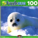Baby Harp Seal - 100 Pieces Jigsaw Puzzle
