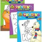 SCHOOL ZONE Coloring & Activity Books