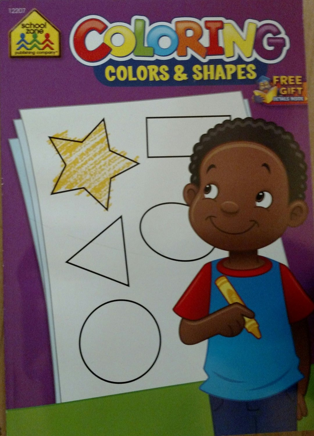 School Zone Coloring Colors & Shapes