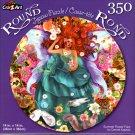 Summer Flower Fairy by Cennet Kapkac - 350 Piece Round Jigsaw Puzzle