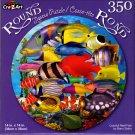 Colorful Reef Fish by Banu Satrio - 350 Piece Round Jigsaw