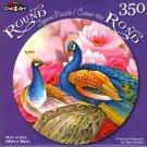 Princes of Peacocks by Oleg Gavrilov - 350 Piece Round Jigsaw Puzzle