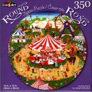 Country Fair II by Joseph Holodook - 350 Piece Round Jigsaw Puzzle