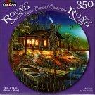 AfterDark by Jim Hansel - 350 Piece Round Jigsaw Puzzle
