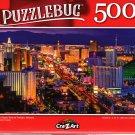 Las Vegas Strip at Twilight, Nevada - 500 Pieces Jigsaw Puzzle