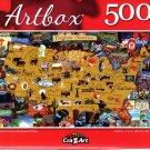 Explore Amarica by Edward Wargo - 500 Pieces Jigsaw Puzzle