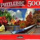 Central Park in Autumn, New York City - 500 Pieces Jigsaw Puzzle