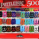Colorful Sandals - 500 Pieces Jigsaw Puzzle
