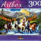 Wild Run by John Crisp - 300 Pieces Jigsaw Puzzle