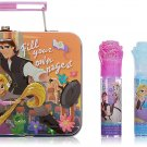 Tangled Townley Girl 4 Piece Super Sparkly Lip Gloss Set for Girls