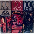 3 Collectible Girls/Boys 100 Piece Jigsaw Puzzles