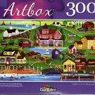 Red Farms Inn by Cheryl Bartley - 300 Pieces Jigsaw Puzzle