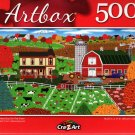Perfect Day On The Farm - 500 Pieces Jigsaw Puzzle