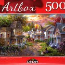 Main Street Along A Country by Nicky Boehme - 500 Pieces Jigsaw Puzzle