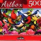 Friendly Birds - 500 Pieces Jigsaw Puzzle