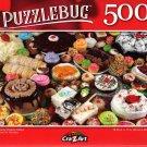 Creamy Dreamy Cakes - 500 Pieces Jigsaw Puzzle