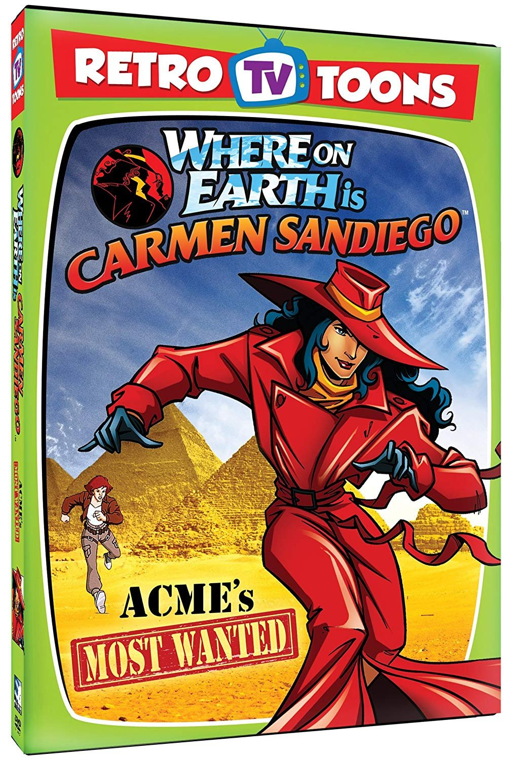 Retro TV Toons - Where on Earth is Carmen Sandiego - ACME's Most Wanted(DVD) (dv001)