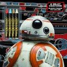 Bendon 43759 Star Wars Saga Black Paper Coloring & Activity Book with Crayons