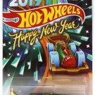 Hot Wheels 2019 Happy New Year Carbonator Bottle Opener Car