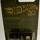 Hot Wheels 2018 50th Anniversary Black & Gold Series 1/64 Scale Diecast Model (Rodger Dodger)