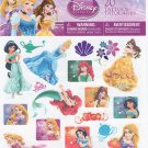 Disney Princess Tattoo's (Jasmine, Ariel, Belle) 20 Tattoo Party Favors