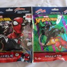 2 Factory Sealed Marvel Spider-Man Spiderman Puzzle on The Go 48 Piece Jigsaw Puzzles Ages 6+