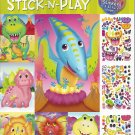 Bendon Wacky Dinos Create a Face Stick-N-Play 200+ Stickers