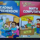 Kenny Kangaroo Math Computation & Reading Comprehension Workbooks (1st Grade)
