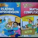 Kenny Kangaroo Math Computation & Reading Comprehension Workbooks (2nd Grade)