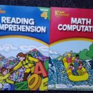 Kenny Kangaroo Math Computation & Reading Comprehension Workbooks (4th Grade)