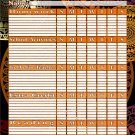 Chore Chart/Planner/Progress Charts - Magnetic Dry Erase Chore Chart