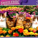Cute Kittens on The Grass - 300 Pieces Jigsaw Puzzle