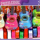 Colourful Mexican Ukuleles - 300 Pieces Jigsaw Puzzle