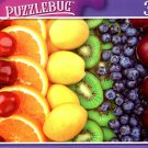 Colorful Fruits Rows; Cherries, Oranges - 300 Pieces Jigsaw Puzzle
