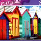Bething Boxes in Brighton Beach, Melbourne, Victoria, Australia - 300 Pieces Jigsaw Puzzle