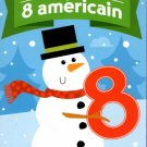 Crazy Eights - Christmas Playing Cards Game