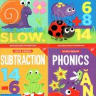 First Grade Educational Workbooks - Good Grades - Set of 4 Books - v8