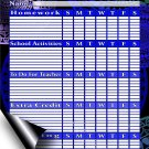Chore Chart/Weekly Planner/to Do List/Message Board (Edition #02) (Chore Chart/to Do List)