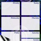 Chore Chart/Weekly Planner/to Do List/Message Board (Edition #02) (Weekly Planner)