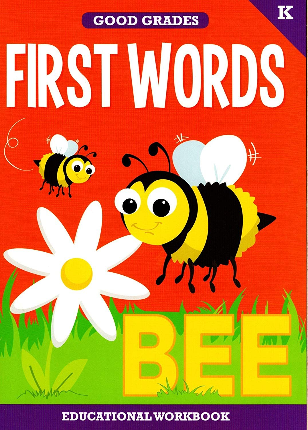 Good Grades Kindergarten Educational Workbooks First Words - v2