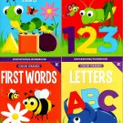 Good Grades Kindergarten Educational Workbooks- Set of 4 Books - v2