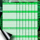 Chore Chart/Weekly Planner/to Do List/Message Board - (Edition #03)) (Chore Chart/to Do List)