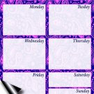 Chore Chart/Weekly Planner/to Do List/Message Board - (Edition #06) (Weekly Planner)