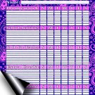 Chore Chart/Weekly Planner/to Do List/Message Board - (Edition #06) (Chore Chart/to Do List)