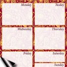 Chore Chart/Weekly Planner/to Do List/Message Board - (Edition #07) (Weekly Planner)