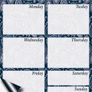 Chore Chart/Weekly Planner/to Do List/Message Board - (Edition #08) (Weekly Planner)